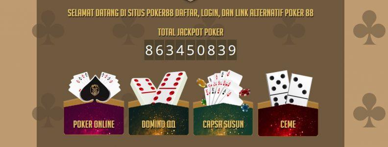 Situs Online Pokerclub88 – Kelebihan dan Kredibilitas Agen Poker
